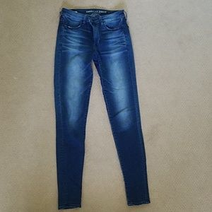 TALL American Eagle high rise jeggings